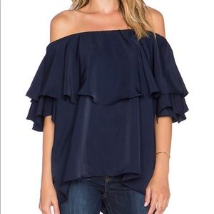 MLM Label Madison Off The Shoulder Top Ruffles